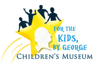 For The Kids by George Children's Museum Logo